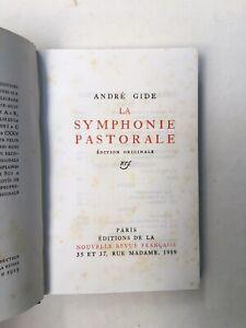 Gide André - La symphonie pastorale - 1919