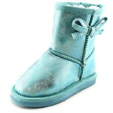 Western Chief Size 10 Elsa Girls / Kids Metallic Casual Boots $49.00