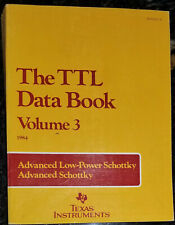 Used 1984 Texas Instruments Ttl (As/Als) Data Book Vol. 3
