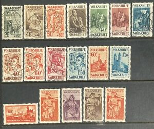Germany 1926-1934 Welfare Fund & Christmas Charity issues MH & Used