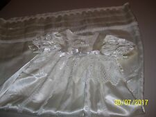 BEAUTIFUL VINTAGE BABY GIRLS BAPTISMAL GOWN / BAPTISM, GREAT GIFT / TREASURE  FS