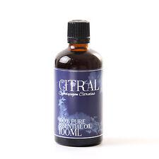 Citral - Essential Oil - 100% Pure - 100ml (EO100CITR)