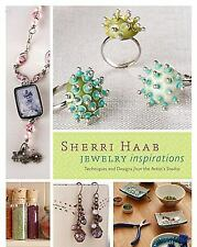 BK140 JEWELRY INSPIRATIONS Soft Cover Book By Sherri Habb - New in Shrink Wrap