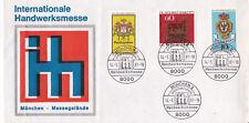 West Germany 1981 Munich International Craft Fair Cover Unadressed VGC