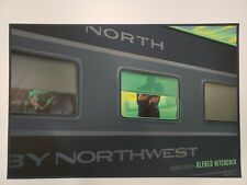North by Northwest Variant by Laurent Durieux - Rare sold out Not Mondo