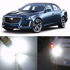 Alla Lighting Back-Up Reverse Light 3157K White LED Bulbs for 03~07 Cadillac CTS