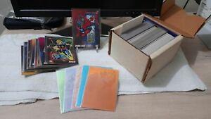 IMPEL 1992 Marvel Universe Series 3 Basic Cards (200 pcs) plus 5 Foil Cards Set