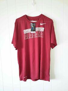 Nike NCAA Alabama Crimson Tide dri fit tee shirt MSRP $35.00 mens Sz 3XL