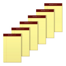 TOPS Docket Gold Premium Jr. Legal-Ruled Writing Pads, 5
