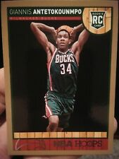 giannis antetokounmpo 2013 14 hoops gold rookie. MINT!