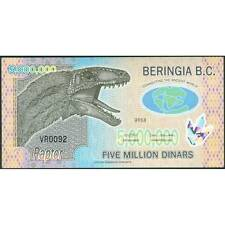 TWN - BERINGIA Bering 5000000 5.000.000 Dinars 2013 UNC Polymer Private issue