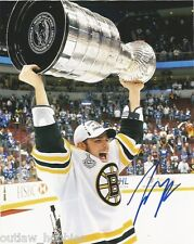 Boston Bruins Tyler Seguin Stanley Cup Autographed Signed 8x10 Photo COA
