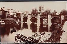 Herefordshire Postcard - Hereford, Wye Bridge     V74