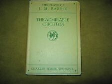 J.M. Barrie - Admirable Crichton - 1928 US Edition - Hardcover w Jacket VG/GD