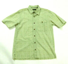 Orvis Mens M Button Up Short Sleeve 1 Pocket Shirt EUC