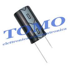 Condensatore elettrolitico 10uF 25V 85° 5 pezzi CE-10UF-25-1
