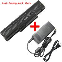 Laptop Battery For Gateway NV52 NV53 NV54 NV56 NV58 NV59 AS09A61 AS09A71 Adapter