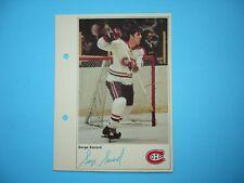 1971/72 TORONTO SUN NHL ACTION HOCKEY PHOTO SERGE SAVARD SHARP!! TORONTO SUN