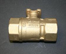 "JOHNSON CONTROLS VG1241ER 1-1/2"" 2W BALL VALVE 29.2 CV BRASS TRIM HVAC - NEW"