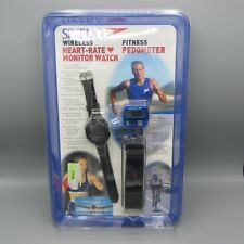 NOS Speedo Wireless Heartrate Monitor Watch & Fitness Pedometer