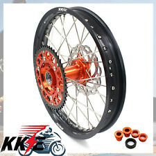 """KKE 2.15*18""""  REAR WHEEL RIM FOR KTM EXC-R EXC 25 250 350 530 WITH DISC"""