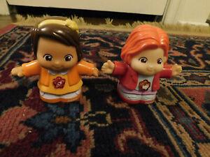 Lot Vtech Go Go Smart Friends Dawn & Norah Talking Light-Up Interactive Dolls