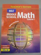 Holt Middle School Math Course 1 Teacher's Edition (2004) 9780030657993