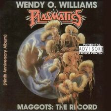 Maggots: The Record [PA] by Plasmatics/Wendy O. Williams (CD, Oct-2000,...