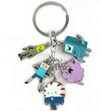Adventure Time BMO Beemo Key Chain Anime Characters keychian Pendant