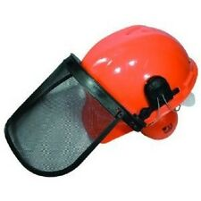 Chainsaw Protective SAFETY HELMET SYSTEM - Hard Hat / Ear Muffs / Face Shield