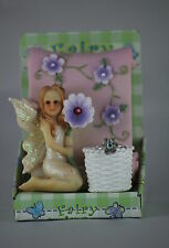 FAIRY with SCROLL, RINGHOLDER & RING.  Lovely Gift for a Little Girl or Princess