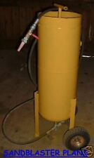 Home-Made Pressurized SANDBLASTER Plans Build for LOW$