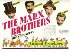 Marx Bros. Animal crackers vintage movie poster #13