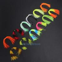 12 Bundles 50 Strands Silicone Skirts Fishing Skirt Jig Lure Squid Lure Thread