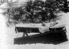 Antique Post Mortem Winter Casket Photo 224 Bizarre Odd Strange