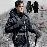 Winter Men Women Touch Screen Windproof Waterproof Outdoor Sport Driving Gloves
