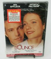 BOUNCE - EXCLUSIVE 2-DISC DVD MOVIE, BEN AFFLECK, GWYNETH PALTROW, WS, NEW