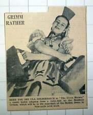 1939 Ula Solderbaum Seven Heroes Comic Ballets Jooss