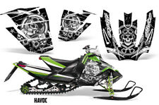 Arctic Cat Sno Pro Race Sled Wrap Snowmobile Decal Graphic Kit 2008-2011 HAVOC W