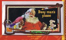 LMH Patch Aufnäher 1947 Coke Weihnachtsmann beschäftigt Mannes Pause Coca Cola Weihnachten w&w