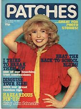 Patches Magazine 29 September 1979 No. 30    John Schneider    Mike Howe