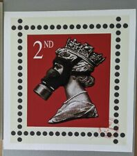 James CAUTY CNPD Stamp of Mass Contamination 2nd class signed LTD Edition 34/313