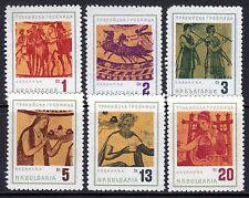 Bulgaria - 1963 Thraken at Kazanlük - Mi. 1415-20 MNH