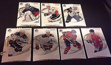 2007-08 SP Authentic LOT of ( 7 ) FUTURE WATCH Rookie Cards NO Dups  SN #d /999