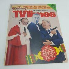 TV TIMES Magazine Christmas Issue 1978 James Bond + Morecambe & Wise [VG]