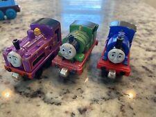 Take & Play Diecast Thomas & Friends Train Engine Lot 3 Culdee Sir Handel Percy