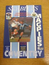17/12/1996 Coventry City v Newcastle United  . Thanks for viewing this item, buy