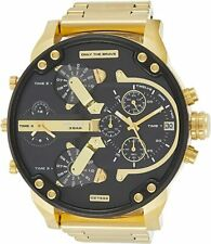Diesel Mr Daddy 2.0 DZ7333 Men's Wristwatch - Gold