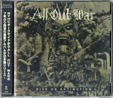 ALL OUT WAR-GIVE US EXTINCTION-JAPAN CD D99