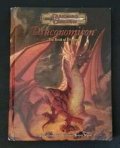 Dungeons and Dragons 3.5 Draconomicon D&D d20